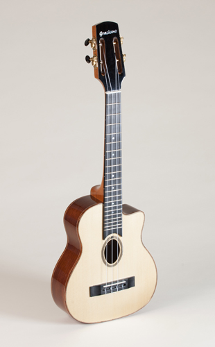Graziano Selmer Style Tenor ukulele in rosewood and spruce For Sale